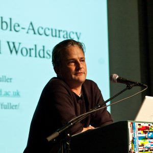 特別講義:グローバル時代の芸術文化概論マシュー・フラー 「可塑性を讃えて」