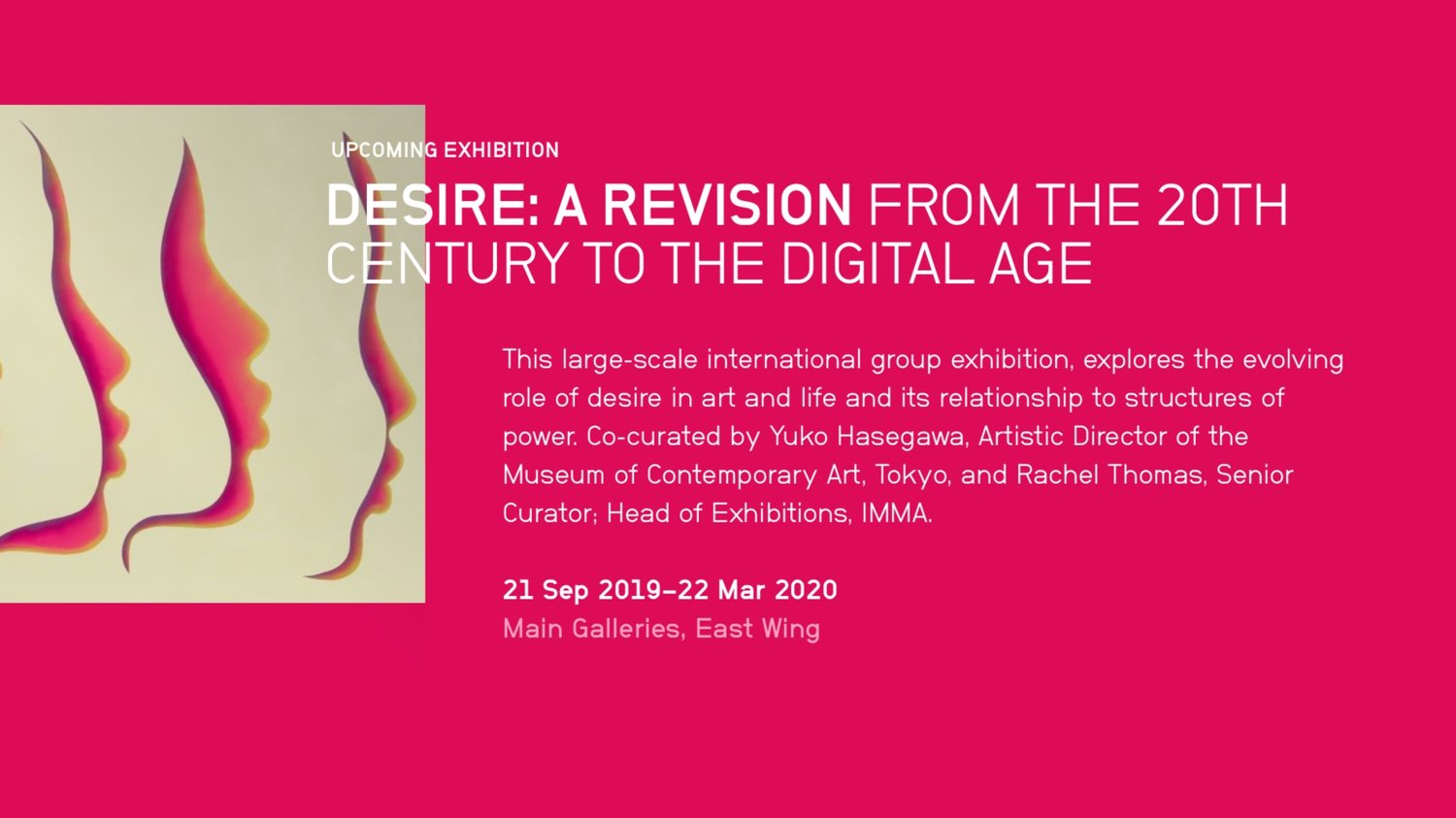 "Exhibition: ""Desire: A Revision From The 20th Century To The Digital Age"" At The Irish Museum Of Modern Art, Dublin"