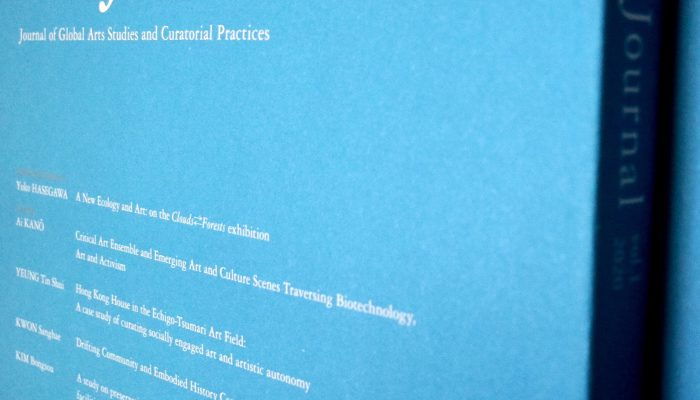 "New Publication: ""Journal Of Global Arts Studies And Curatorial Practices"" Vol.1"