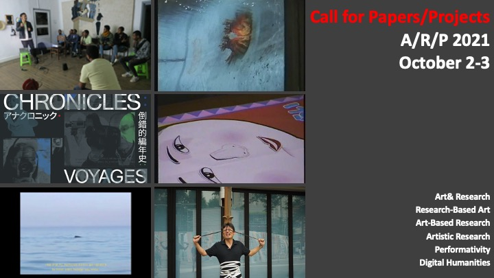 International Conference & Workshop: A/R/P (Art/Research/Practice)2021  Call For Papers & Projects